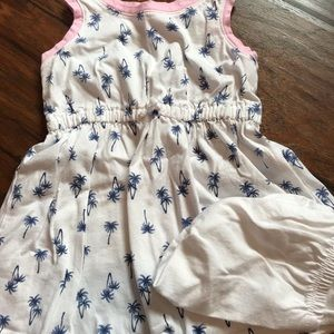Carter's Palm tree dress - size 18 months